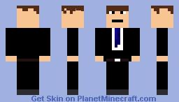 James Bond Minecraft Skin