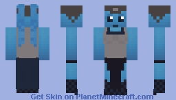 SW: Dancer of Jabba the Hutt Minecraft Skin