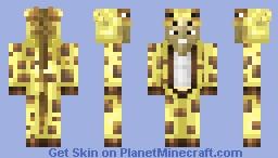 Giraffe Onesie Minecraft Skin