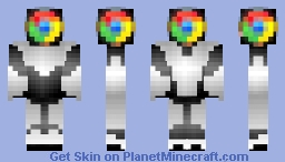 Browser Wars: Google Chrome Minecraft Skin