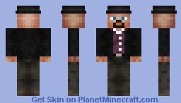 Heisenberg - Walter White Minecraft Skin