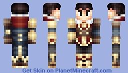 Jayce, The Piltover Enforcer Minecraft Skin