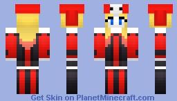 Cerebella Pallette Costume (Harley Quinn) Minecraft Skin