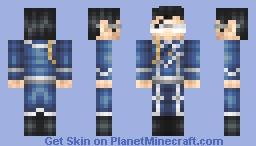 Lt. Colonel Maes Hughes (FMAB) Minecraft Skin