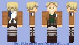 Reiner Braun (Shingeki no Kyojin/Attack on Titan) [v.1.8] Minecraft Skin