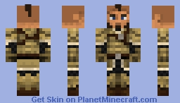 Gilded Armor Minecraft Skin