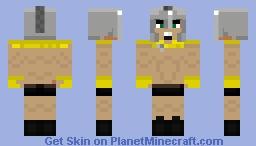 Dion The Spartan Minecraft Skin