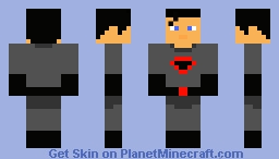 Red Son Superman Minecraft Skin