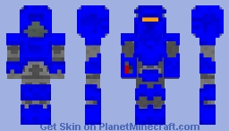 Blue Power Armor