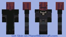 PBLS2 Week 3 (Kioki vs Ample) The Dark Bacon Rises Minecraft Skin