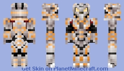 Halo 4 - The Didact (1.8 Format) Minecraft Skin