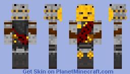 Tymaret, The Murder King Minecraft Skin