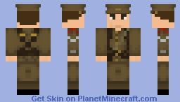 WW1 Skin series - British Corporal 1914 Minecraft Skin