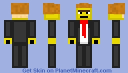 The Lego Movie Series - Part 3 - President Business Minecraft Skin