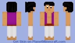 Disney Skins~Aladdin Minecraft Skin