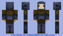 LVL 1 Adventurer  (leather armour) Minecraft Skin