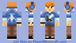 awuhoo #1 (IRL friend) Minecraft Skin