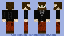 Bearded guy Minecraft Skin