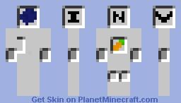 Captain Inventory Minecraft Skin