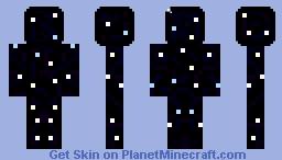 Galaxy Skin Minecraft Skin