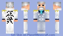 Monkey D. Garp - One Piece skin series Minecraft Skin