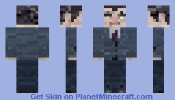 Half-life Gman Minecraft Skin