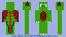 Green Dragon Minecraft Skin