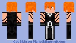 Ichigo Kurosaki (Bleach) Better than the old one =P [RopeCDJF] Minecraft Skin