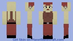 SW: Lady of Jabba the Hutt Minecraft Skin