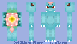 Mega Venusaur [Mega pack sneak peek] Minecraft Skin