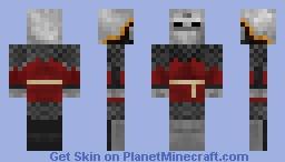 Russian Medieval Armor Minecraft Skin