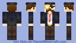 Sir.  [Better in 3D] Minecraft Skin