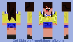 Seiko Well... I Tried - Corpse Party Minecraft Skin