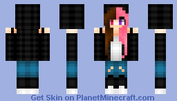 Kitty-Mizzy Minecraft Skin