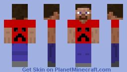 Steve 1 Minecraft Skin