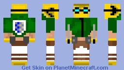 Survey Corps Pikmin (Attack On Titan) (1.8 Ready) [GuitarMasterX7's Contest] Minecraft Skin