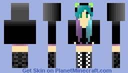 ~Foxy natsuki~ More Hoodies Minecraft Skin