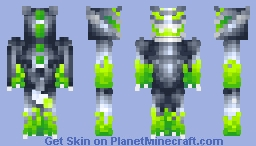 TheEliteGreenFireDragon Minecraft Skin