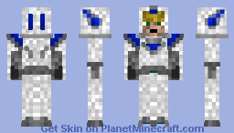 Time War Soldier (My Design) Minecraft Skin