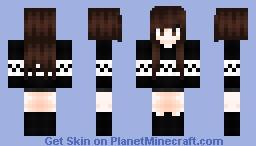 Brown Hair Minecraft Skin