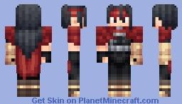 Vincent Valentine Minecraft Skin