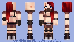 Steampunk Zombie Hunter OC Minecraft Skin