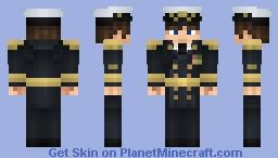 Royal Navy Admiral Minecraft Skin