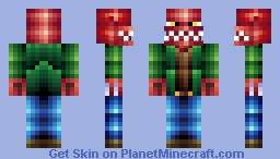 Adventurous Dragon (First Pop Reel!) Minecraft Skin