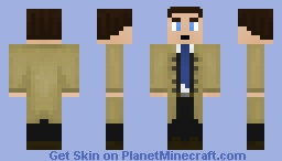 Castiel (Supernatural) Minecraft Skin