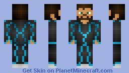 Sci Fi Steve Minecraft Skin
