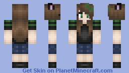 ~GreenAtomicKitty~ Minecraft Skin