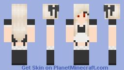 ♥ ° ❤ ° ♥Canaan♥ ° ❤ ° ♥  Maid Minecraft Skin