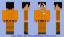 Injustice: Prison Superman Minecraft Skin