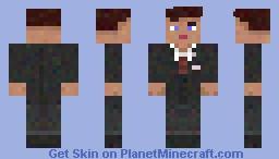 Black Ops 1 JFK Minecraft Skin